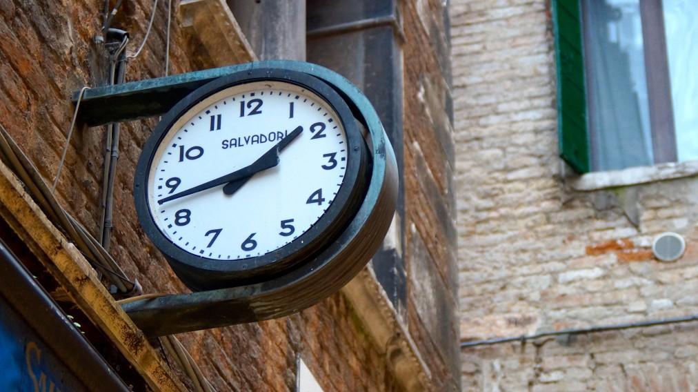 Trovare il tempo perscrivere
